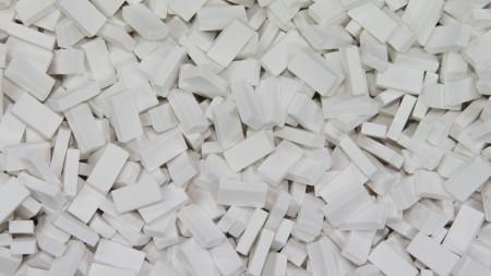 Bakstenen Wit 3000 stuks