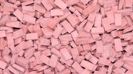 Bakstenen Licht Rood 6000 stuks
