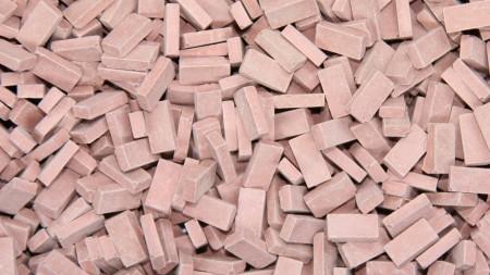 Bakstenen Middel Rood 15000 stuks
