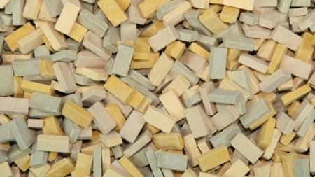 Bakstenen Mix Beige 6000 stuks