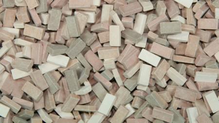 Bakstenen Mix Terracotta 12000 stuks
