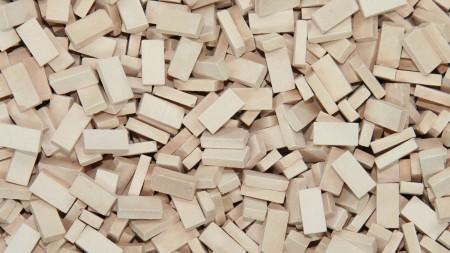 Bakstenen Licht Terracotta 9000 stuks