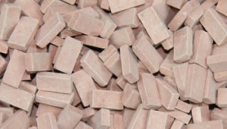 Tegel NF medium terracotta 200 stuks