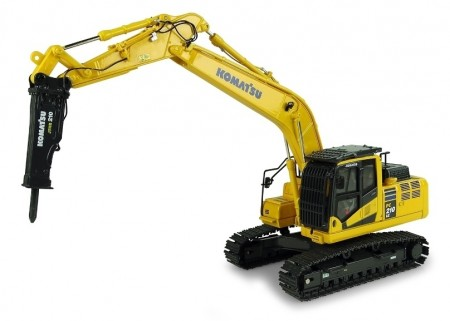 KOMATSU PC210LC-11 RUPSKRAAN WITH HAMMER DRILL (UH8140)