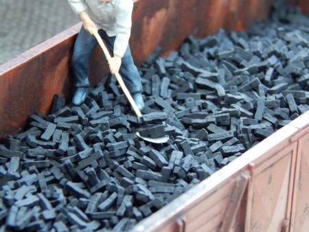 Bricketts Union - Zwart +/- 5000 stuks