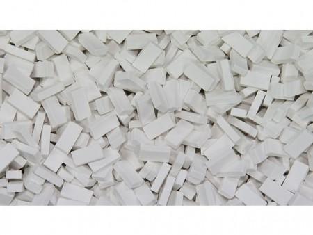 Bakstenen Wit 500 stuks