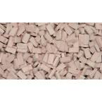 Tegel terracotta middel 2000 stuks