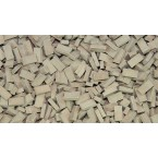 Tegel terracotta donker 1000 stuks