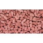 Bakstenen Donker Rood 6000 stuks