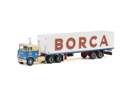 WSI Borca; MACK F700 6x4 CLASSIC BOX TRAILER - 2 AXLE