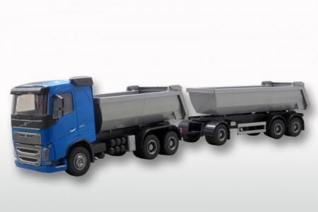 Volvo FH (New) 3-as Blauw met Grijze 3-as Kieper