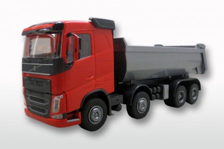 Volvo FH (New) 4-As Kieper Rood/Zilver