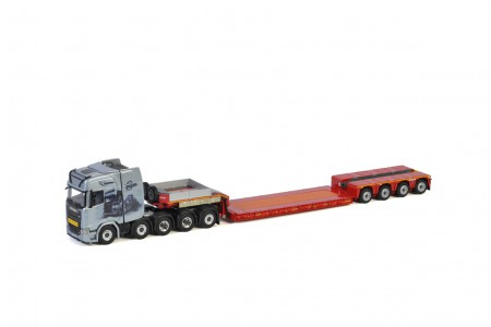 WSI Esser Schwertransporte; SCANIA S HIGHLINE | CS20H 10X4 LOW LOADER - 4 AXLE (01-3219)