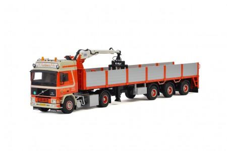 WSI Huskens; VOLVO F16 4x2 BRICK TRAILER - 3 AXLE (01-2227)