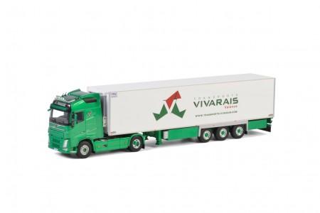 WSI Vivarais; VOLVO FH4 GLOBETROTTER 4x2 REEFER TRAILER - 3 AXLE
