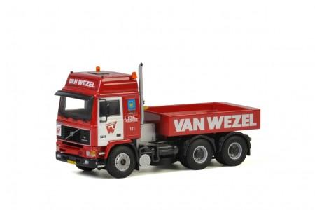WSI Van Wezel; VOLVO F16 GLOBETROTTER 6x4 + BALLAST BOX