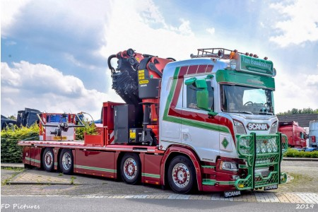 WSI Transport Van Caudenberg; SCANIA R NORMAL | CR20N 8X2 PALFINGER PK 92002 SH | JIB