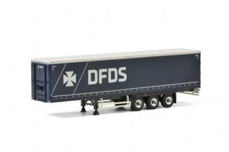 WSI Premium Line; DFDS COPENHAGEN CURTAIN SIDE / TAUTLINER TRAILER - 3 AXLE