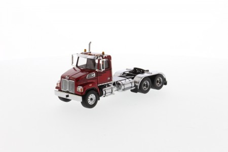 IMC Models Western Star 4700 SF Tandem Truck red