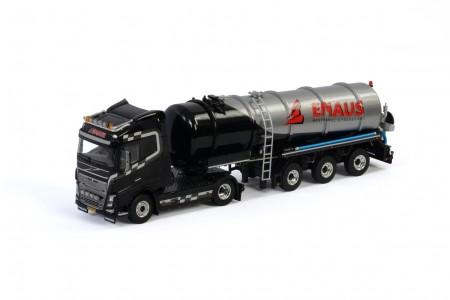 WSI Emaus Transport; VOLVO FH4 GLOBETROTTER 4x2 TANK TRAILER VACUUM - 3 AXLE