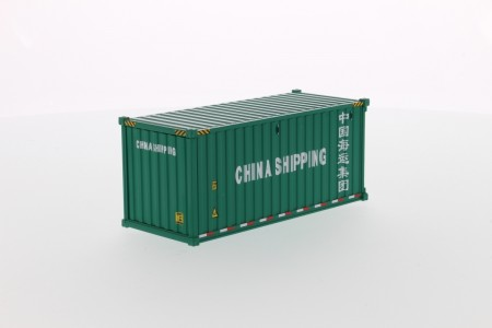 IMC Models 20' Dry goods sea container China shipping green