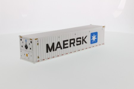 IMC Models 40' Refrigerated sea container MAERSK refrigerated White