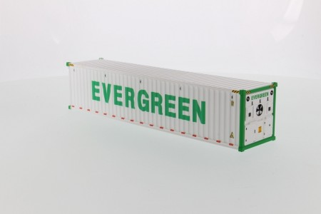 IMC Models 40' Refrigerated sea container EverGreen refrigerated White