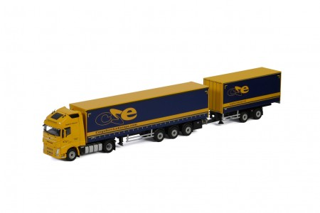 WSI Cargo Service Europe; VOLVO FH4 GLOBETROTTER XL LZV COMBI