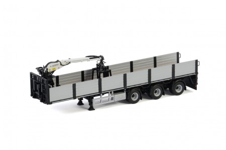 WSI Premium Line; BRICK TRAILER BLACK - 3 AXLE