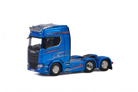 WSI Premium Line; SCANIA S HIGHLINE CS20H 6x2 TAG AXLE