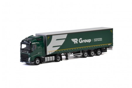 WSI R-Group; VOLVO FH4 GLOBETROTTER 4x2 CURTAINSIDE / TAUTLINER TRAILER - 3 AXLE
