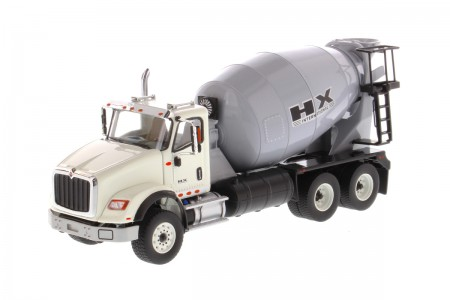IMC Models International HX615 Concrete Mixer White Cabin Light Grey Mixer Drum