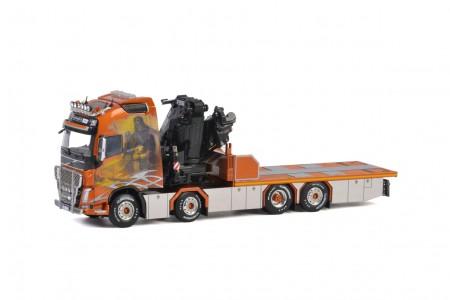 WSI Norrtransport; VOLVO FH4 GLOBETROTTER XL 8x2 TAG AXLE FASSI 1100 | JIB