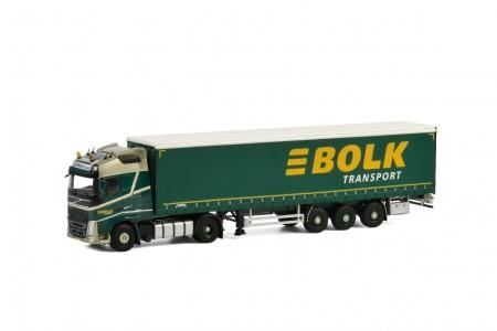 WSI Bolk Transport; VOLVO FH4 GLOBETROTTER 4x2 CURTAINSIDE / TAUTLINER TRAILER - 3 AXLE