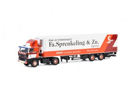 WSI Fa. Sprenkeling & Zn; DAF 3300 4x2 REEFER TRAILER - 2 AXLE