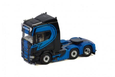 WSI Lars Justesen Transport; SCANIA R HIGHLINE   CR20H 6X2 TWINSTEER (05-0084)