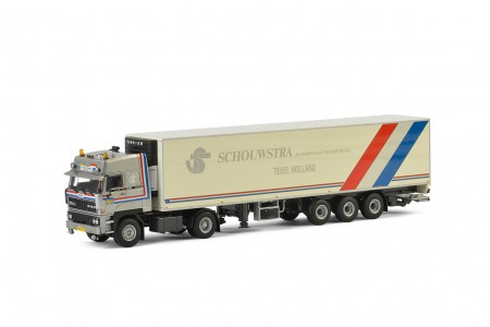 WSI Schouwstra DAF 3600 Koel Oplegger Carrier (3 as)
