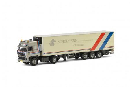 WSI Schouwstra DAF 3600 Koel Oplegger Carrier (3 as)
