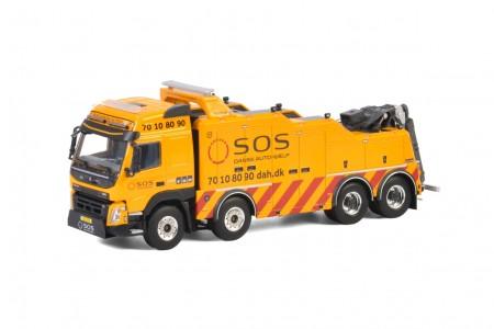 WSI SOS Dansk Autohjælp; VOLVO FMX GLOBETROTTER 8x4 FALKOM - 4 AXLE