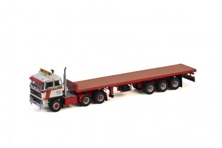 WSI Transports Brame P; DAF 3300 6X4 FLAT BED TRAILER   CLASSIC - 3 AXLE (01-3367)