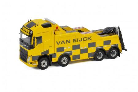 WSI Van Eijck; VOLVO FH 4 GLOBETROTTER XL 8X4 FALKOM (01-3260)