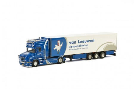 WSI Van Leeuwen; SCANIA T6 TORPEDO TOPLINE 4x2 REEFER TRAILER - 3 AXLE