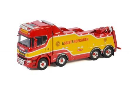 WSI Assistancekaren; SCANIA R HIGHLINE   CR20H 8X4 FALKOM (01-3287)