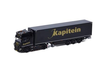 WSI J. Kapitein Transport; SCANIA R HIGHLINE | CR20H 4X2 BOX TRAILER - 3 AXLE (01-3442)