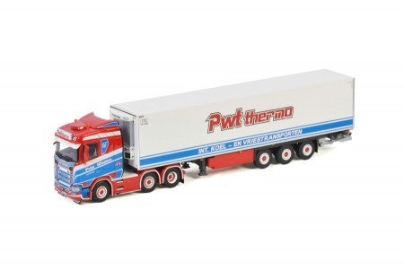 WSI PWT Thermo; SCANIA S NORMAL   CS20N 6X2 TWINSTEER REEFER TRAILER - 3 AXLE (01-3383)