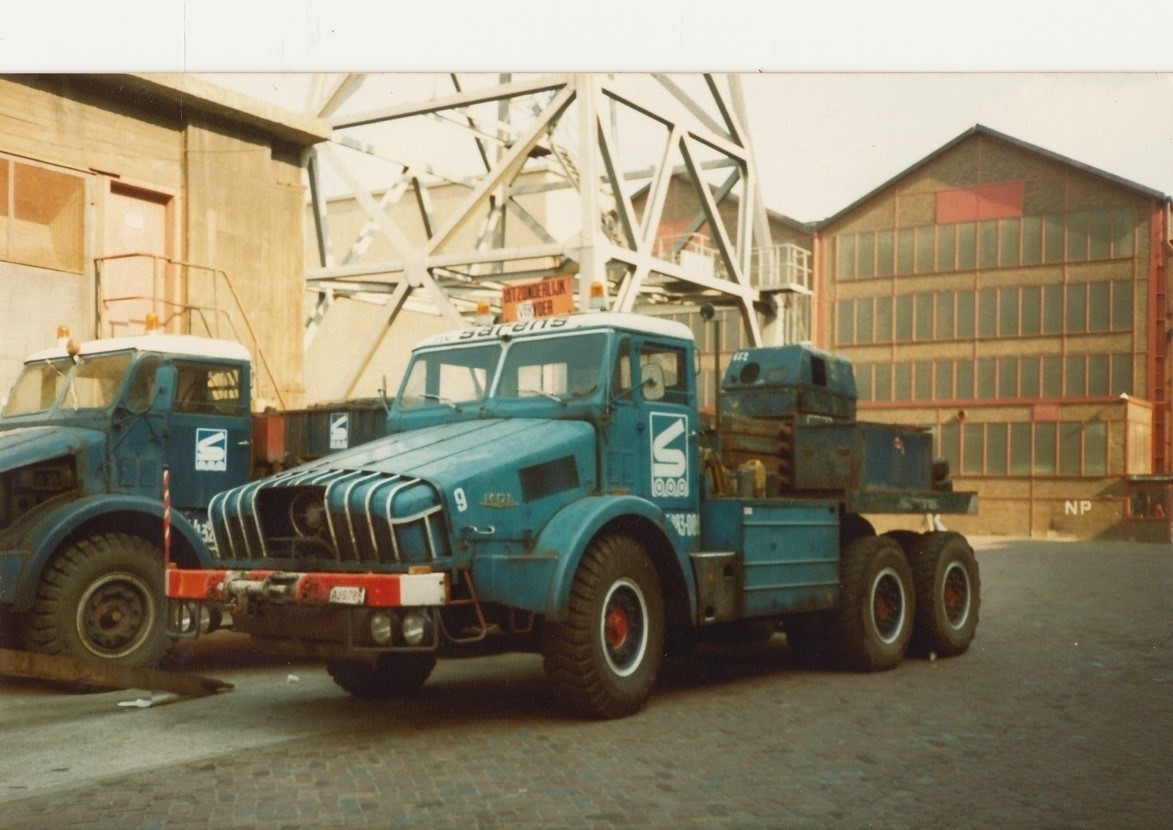 Thornycroft Antar 6x6 Sarens IMC Branding imc 20-1031 1:50