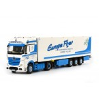 WSI Europe Flyer; MB Actros MP4 Giga space 4 x 2 Koeloplegger Thermoking (3 as star)