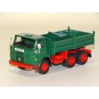 Henschel F261 6x6 Kipper groen/rood