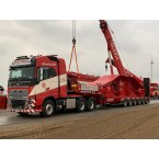 WSI COLONIA; VOLVO FH4 GLOBETROTTER 6X4 MCO-PX-6 AXLE WITH RAMPS