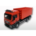 MAN TGS met afzet container groot